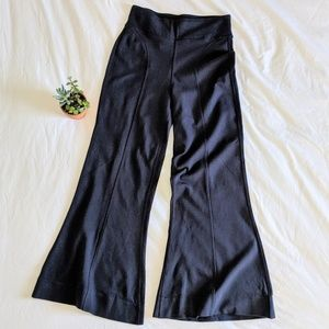 Kit and Ace Pants - Kit and Ace Navy Wide Leg Pants
